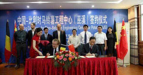 中国—比利时马铃薯工程中心落户重庆巫溪_薯卫士_马铃薯支持平台