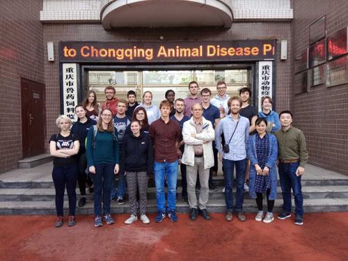 比利时孔多塞学院师生到重庆市动物疫控中心开展友好交流活动_薯卫士_马铃薯支持平台