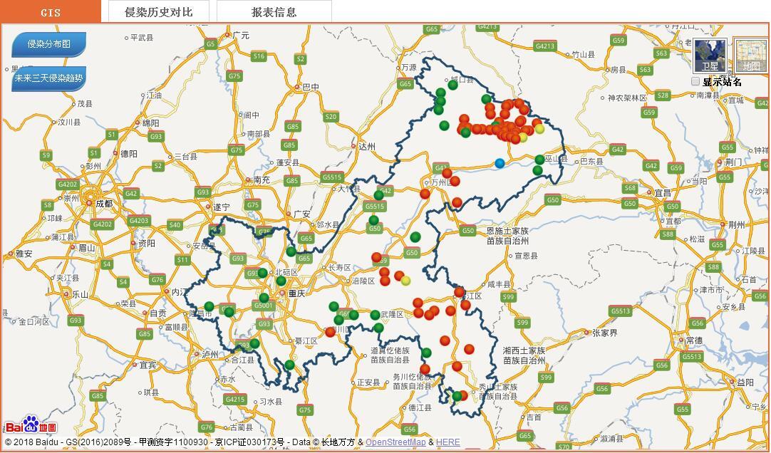 大数据诠释重庆市2018年马铃薯晚疫病发生特点及后期防治建议_薯卫士_马铃薯支持平台